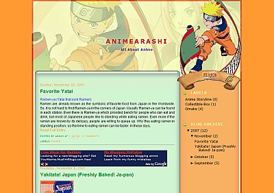 naruto-scroll-blogger-template