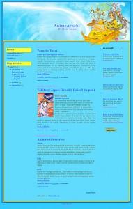 Belldandy-blogger-template
