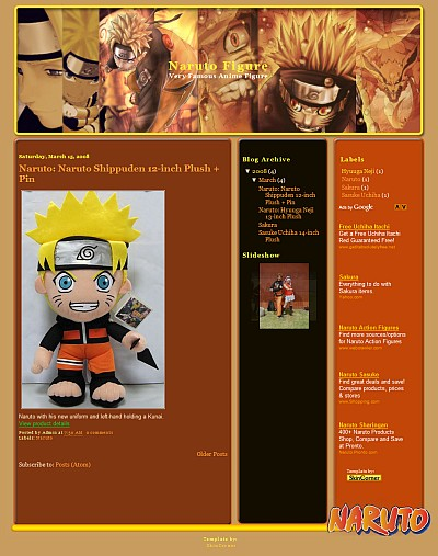 naruto-face-blogger-template