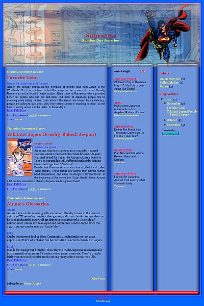 superman-blogger-template