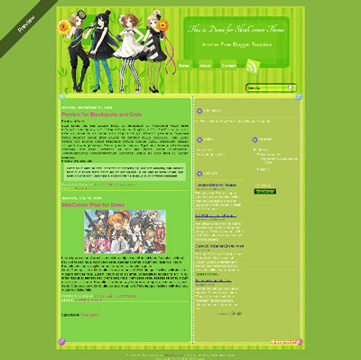 k-on-blogger-template