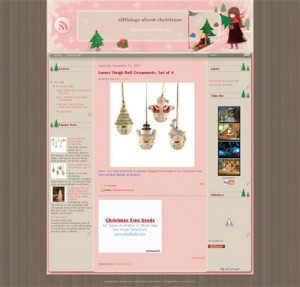 pinky-christmas-template